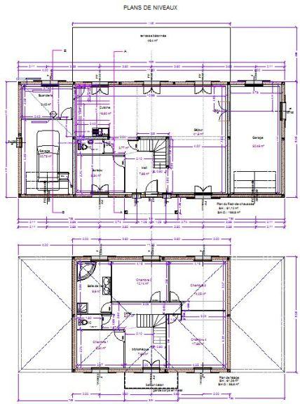 Maison St Remy  Maitre DOeuvreDessinPlan Permis Construire